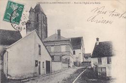 23226 SAINT St MARTIN DE BRETHENCOURT PLACE DE L EGLISE ET LA MAIRIE -ed Illisible