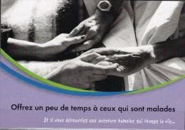 CP PUB - - Petits Frères Des Pauvres - Offrez Un Peu De Temps à Ceux Qui Sont Malades - Gesundheit