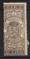 ESPAGNE - Timbre Taxe 10 C De Peso - De 100 à 200 Pesos - GIRO Neuf ** Superbe - Puerto Rico
