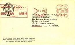 PFADFINDER-SCOUTING-SCOUT S-SCOUTISME-JAMBOREE-GIOV ANE ESPLORATORE, Australia,1964, RED METER !! - Scoutismo
