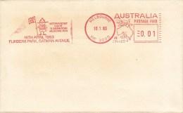 PFADFINDER-SCOUTING-SCOUT S-SCOUTISME-JAMBOREE-GIOV ANE ESPLORATORE, Australia,1983, RED METER !! - Scoutismo