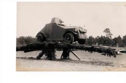 Estland Panzerwagen Tank Ca 1920 Origalfoto - Estonia