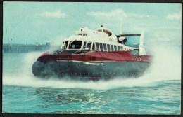"""A Postcard Of The  """"SRN6 Hovercraft""""   Posted In 1969. - Ships"""