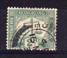 Hong Kong - 1928 - 2 Cents Postage Due (Sideways Watermark) - Used - Hong Kong (...-1997)