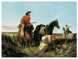 @@@ MAGNET - Cowboy, Indian - Publicitaires