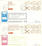 PzB Met Aanhangsel Op Philato FDC: 43b, 43c, 43d, 44b, 47a En 47b - Blanco / Open Klep (CW = € 27,-) - FDC