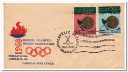 Pakistan, Olympic Games 1968 Mexico, Hockey - Zomer 1968: Mexico-City