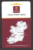 Hotel - Clairion, Dublin, Ireland, Map - Cartes D'hotel