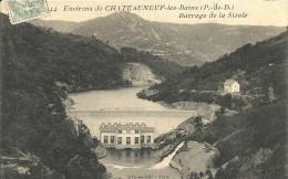 Puy De Dome : Environs De Chateauneuf Les Bains, Barrage De  La Sioule - Other Municipalities