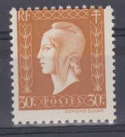 FRANCE VARIETE  N° YVERT  683 TYPE MARIANNE DE DULAC NEUF LUXE - Variedades: 1945-49 Nuevos