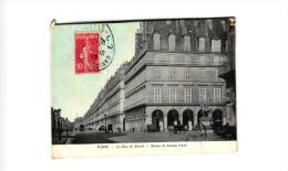 PARIS RUE DE RIVOLI -STATUE DE JEANNE D'ARC ,PETITE ANIMATION !! REF 36800 - District 01