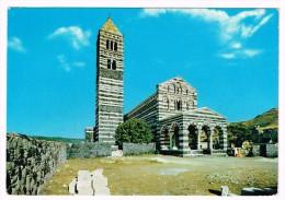 M1295 Codrongianus (Sassari) - Basilica Di Saccargia - Eglise, Church, Kircke / Viaggiata 1978 - Italie