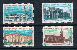 FRANCE  COLONIES  AFFARS ET ISSAS  Série  N° 343° à 346° - Afars Et Issas (1967-1977)