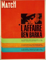 Paris Match N°877 - L'affaire Ben Barka, Brigitte Bardot En Ski Et En Rolls Royce - 29 Janvier 1966 - General Issues