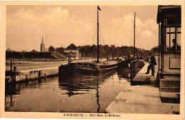 Postkaart Binnenscheepvaart  Lichter Op De Vaart Kanaal LEMBEEKt  Batellerie   Lembecq SAS Editeur Rimez - DELCOUR - Halle