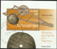 SI 2008-699 ARCHEOLOGY, SLOVENIA, S/S,  Used - Archäologie