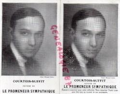 """ECRIVAIN - LITTERATURE -COURTOIS SUFFIT- LE PROMENEUR SYMPATHIQUE """" PHOTO MANUEL PARIS- LIBRAIRIE PLON - Philosophie & Pensées"""