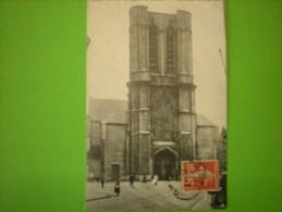 Gand, église St-michel, Timbre Français   D - Gent