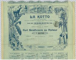 Sa La Kotto, Centre-Afrique, Tres Déco - Afrique