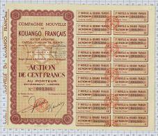 Cie Nouvelle Du Kouango Français à Bambari, Haut Oubangui - Afrique