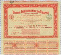 Union Immobiliere De France - Banque & Assurance