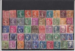 Lot De 50 Timbres 1920 -  1940 - Oblitérés