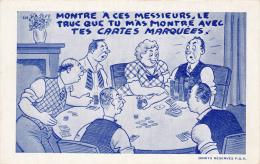 """Jeu De Cartes - """"Le Truc Que Tu M'as Montré !!!"""" - Carte Da Gioco"""