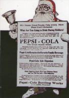 PEPSI - COLA  , Babbo Natale , Card - Altre Collezioni
