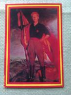 Postal Generalísimo Francisco Franco. España - Militaria