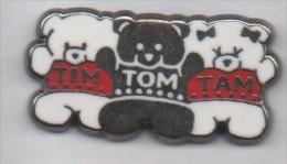 Beau Pin´s En Zamac , Tim Tom Tam , Ourson - Animales