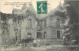 D 27 -  Environs De BOISSEY LE CHATEL -  SAINT LEGER DU GENNETEY - Chalet - 054 L - Autres Communes