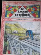 Le Bon Point Amusant Et Instructif N° 1247 : Le Train Passera. 1936. - Altre Riviste