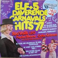 * LP *  ELF + 5 DAVERENDE CARNAVALSHITS '77 - Humor, Cabaret
