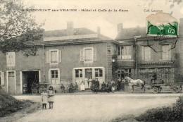 GIRONCOURT SUR VRAINE Hôtel Et Café De La Gare - France