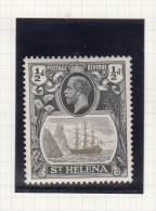 ST HELENA - KING GEORGE V - Grossbritannien (alte Kolonien Und Herrschaften)