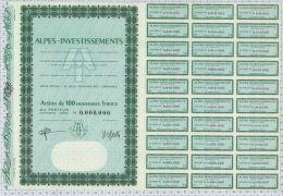Alpes Investissements à Grenoble (blanquette) - Banque & Assurance