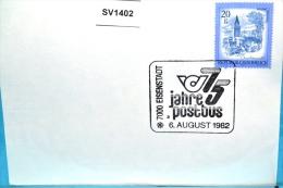 SV1402 75 Jahre Postbus, 7000 Eisenstadt AT 6.8.1982 / 3 - Machine Stamps (ATM)