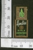 India 1950's Mandira Birla French Print Vintage Perfume Label Multi-colour # 273 - Labels