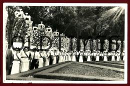 TOMAR - FESTA DOS TABULEIROS - UM GRUPO - PROVA DE EDITOR DE POSTAIS - 1950 REAL PHOTO PC - Santarem