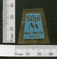 India 1950's Shilpi Nail Polish Print Vintage Beauty Label Multi-colour # 469 - Labels