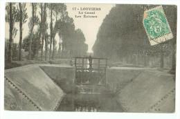 27b46CpaLOUVIERS Le Canal Et Les  Ecluses 190? - Louviers