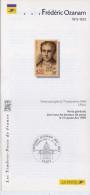 1999--Notice Philatélique En 4 Langues Destinée Aux Bureaux De Poste--Frédéric Ozanam (catholicisme Social)--Paris - Documents Of Postal Services