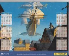 Almanach Du Facteur. LA POSTE. Calendrier LAVIGNE 2003. Walt Disney : TREASURE PLANET - Calendriers