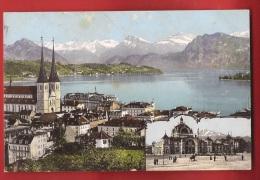 CDS3-60  Luzern  Und See. Gelaufen In 1910 - LU Lucerne