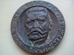 VINTAGE : PAUL VON HINDENBURG - Deutschland