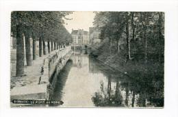 1915 Dt. Bes. Belgien AK Dixmude  Le Pont Du Nord Feldpostkarte - Army: German