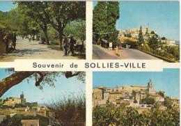 SOLLIES-VILLE    MULTI VUES    CPSM - Sollies Pont