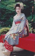 Télécarte Japon - GEISHA - Femme Culture Tradition - Japan Phonecard Girl - Frau Telefonkarte - 225