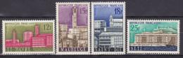 Série De 4 Timbres-poste Neufs** - Le Havre Maubeuge Saint-Dié Sète - 1152-1153-1154-1155 (Yvert) - France 1958 - France