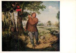 Brueghel, Pieter  The Birdnester Kunsthistorisches Museum Vienna Art Postcard - Peintures & Tableaux